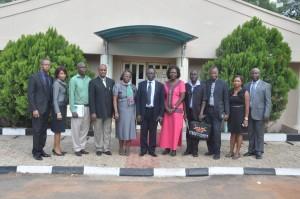 Beneficiaries of IITA-AGRA training with IITA-AGRA team