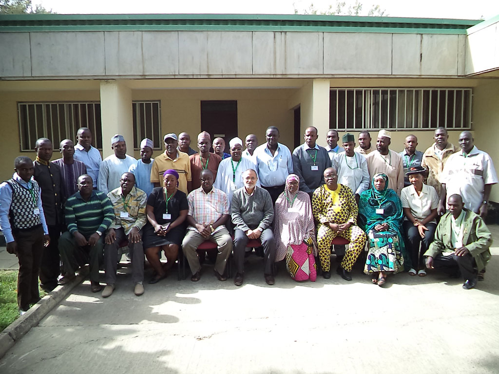 Participants at the SAS training in Kano