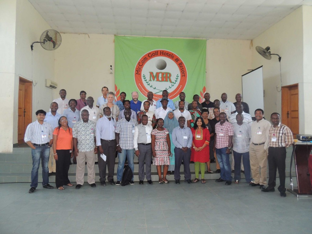 Researchers from IITA W/Africa