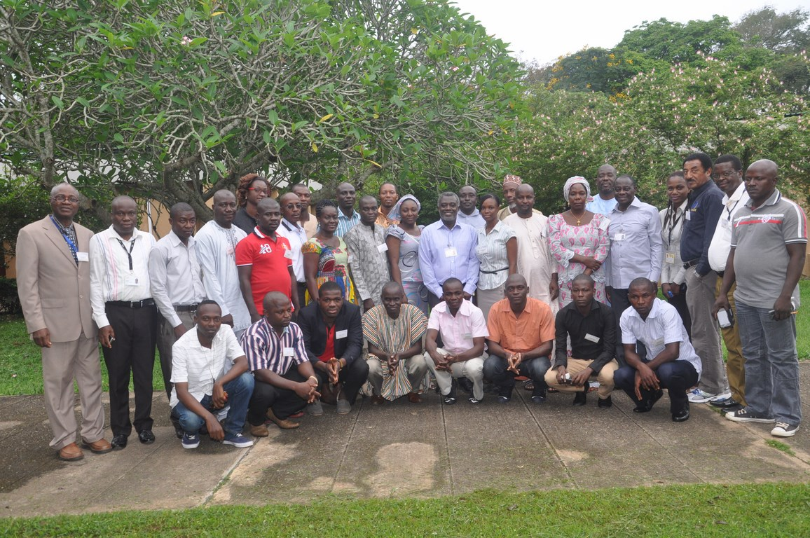 Participants in the DTMA trainingin IITA, Ibadan, Nigeria.