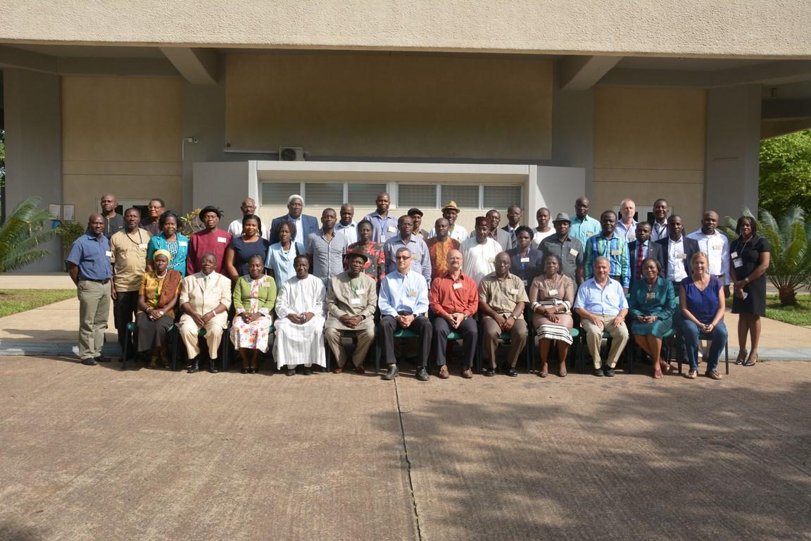Cassava Weeds Management Project workshop participants in IITA-Ibadan.