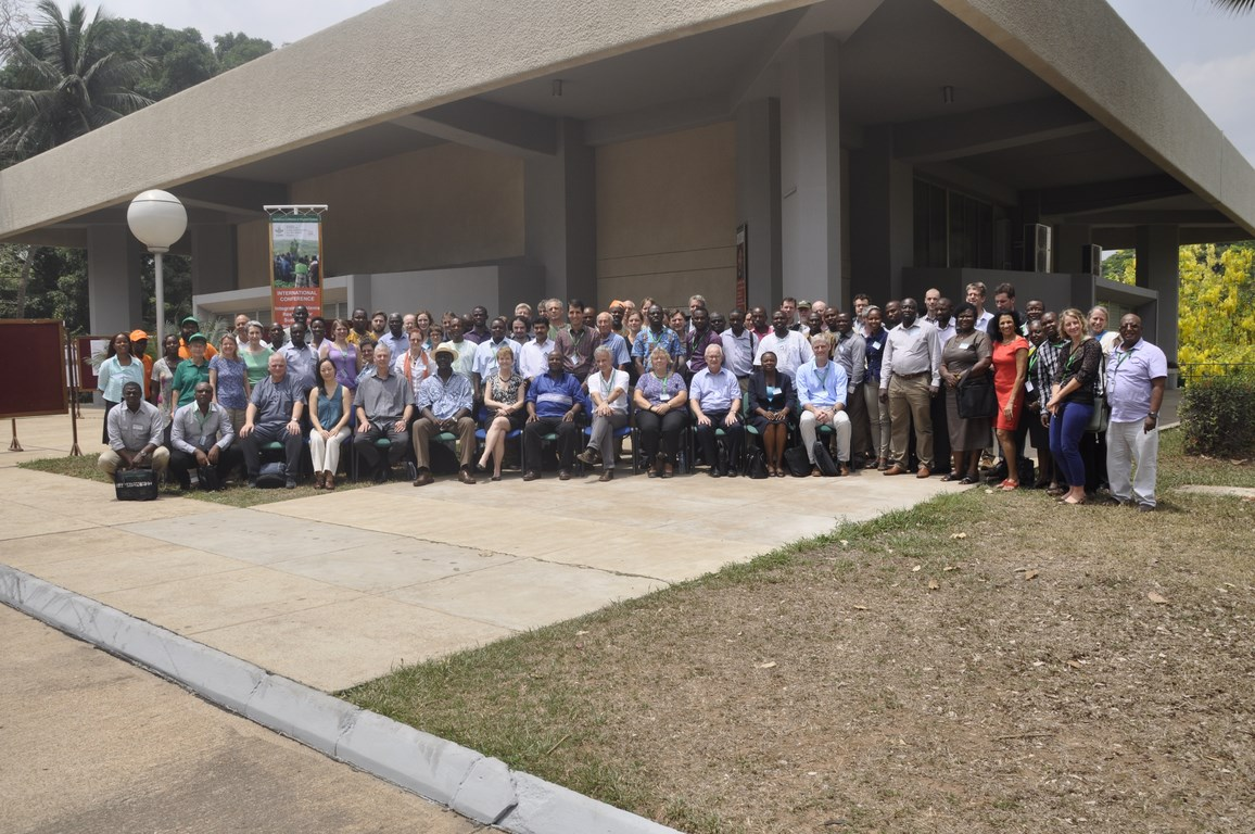 Group photo, Integrated Systems Conference, IITA, Ibadan.