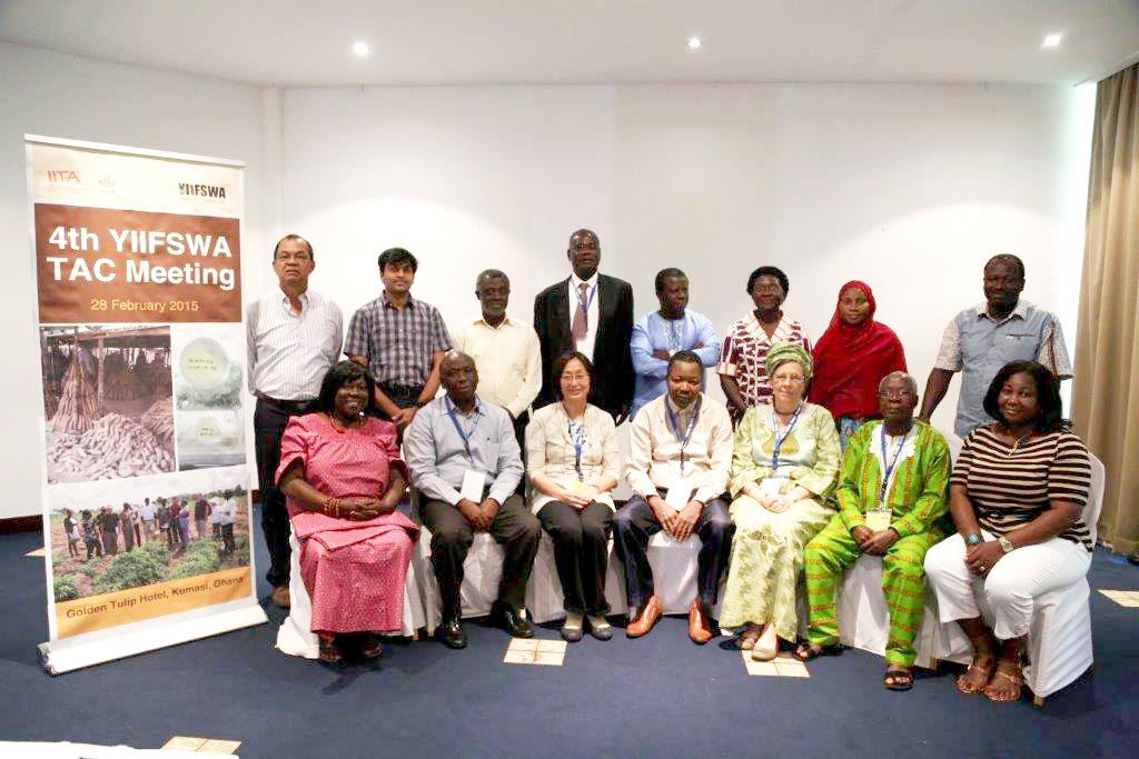 TAC members and YIIFSWA project scientists.