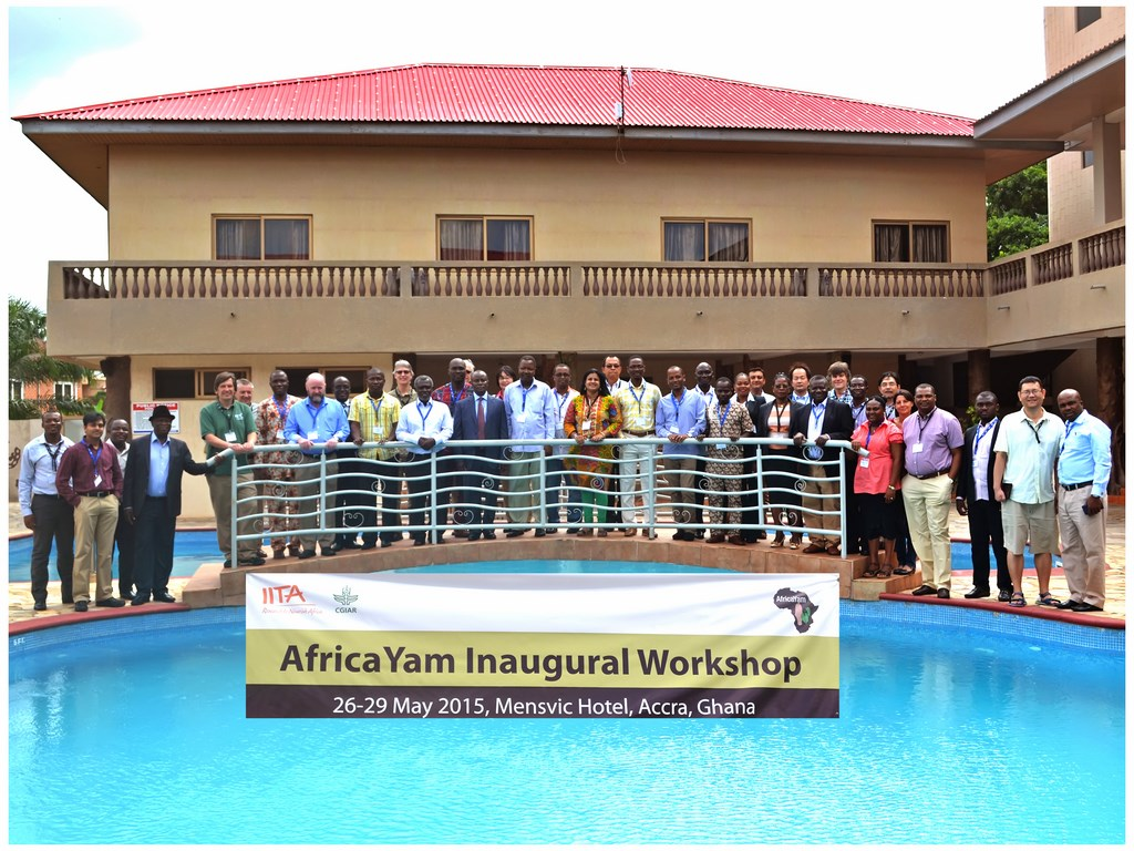 Participants at the inaugural workshop in Ghana.