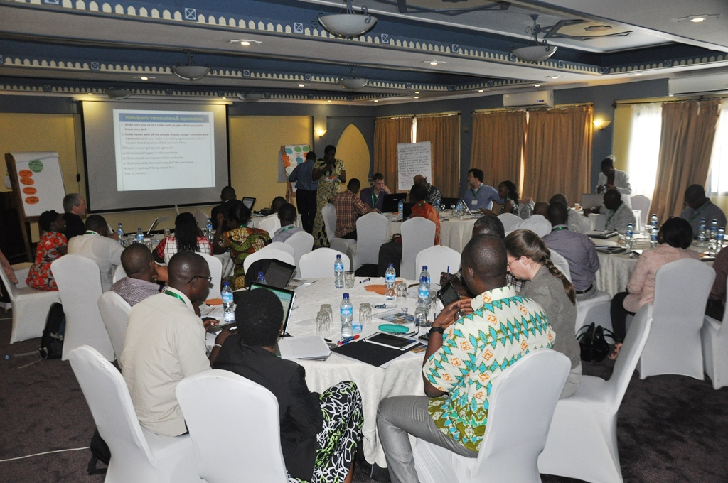 ACAI project participants during the launch.