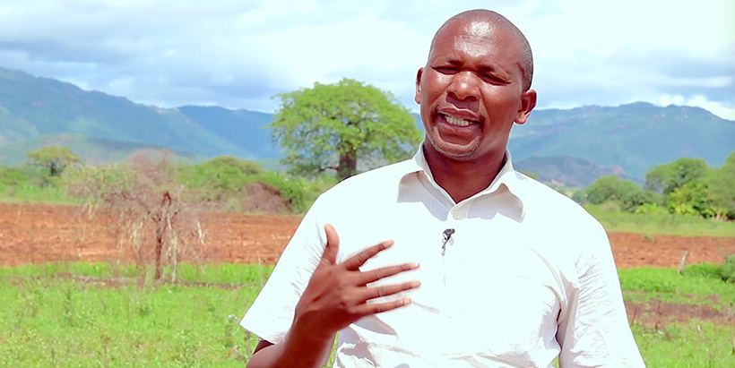"""""""I was spending much time to plant on a big farm size, but I harvested very low yields,"""" added a farmer Paulo Masadu from Dodoma."""